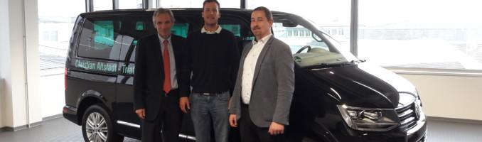 15.12.2017: Grenzenlose Mobilität im Triathlonsport mit dem VW Multivan T6